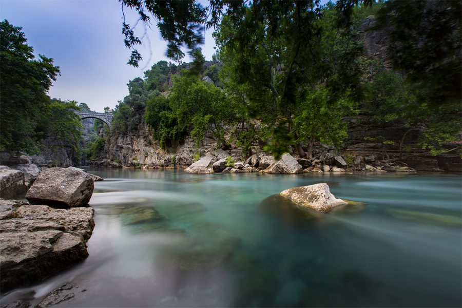 Antalya, Köprülü Kanyon Milli Parkı, 2017, Neutral Density Filter