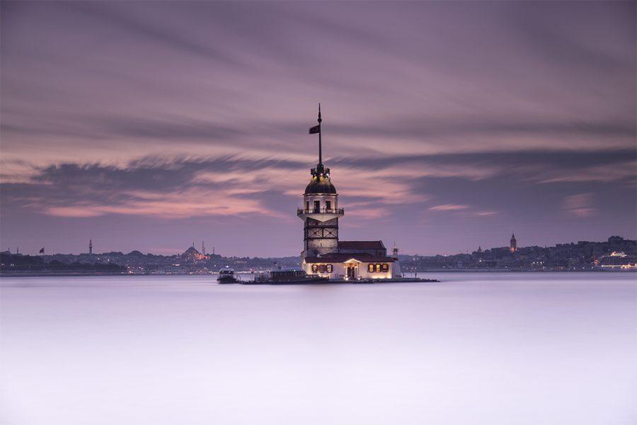 İstanbul, Üsküdar, Kız Kulesi, 2015, Neutral Density Filter