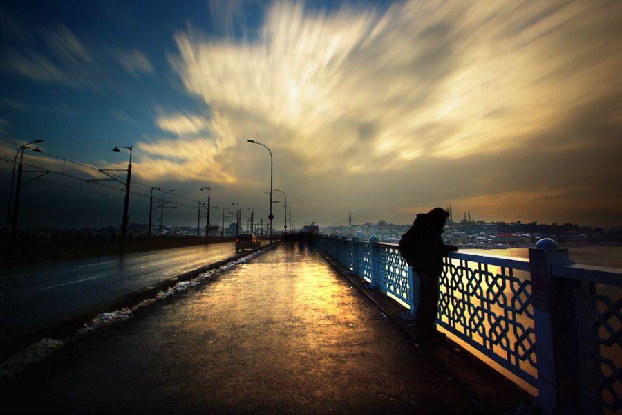 İstanbul, Galata Köprüsü, 2013, Neutral Density Filter