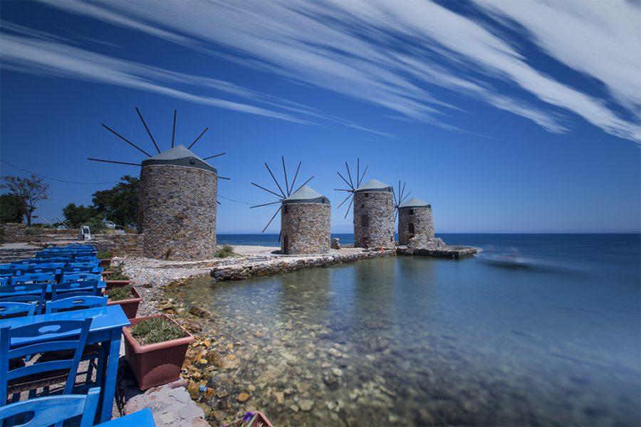 Greece, Chios Island, 2017, Neutral Density Filter