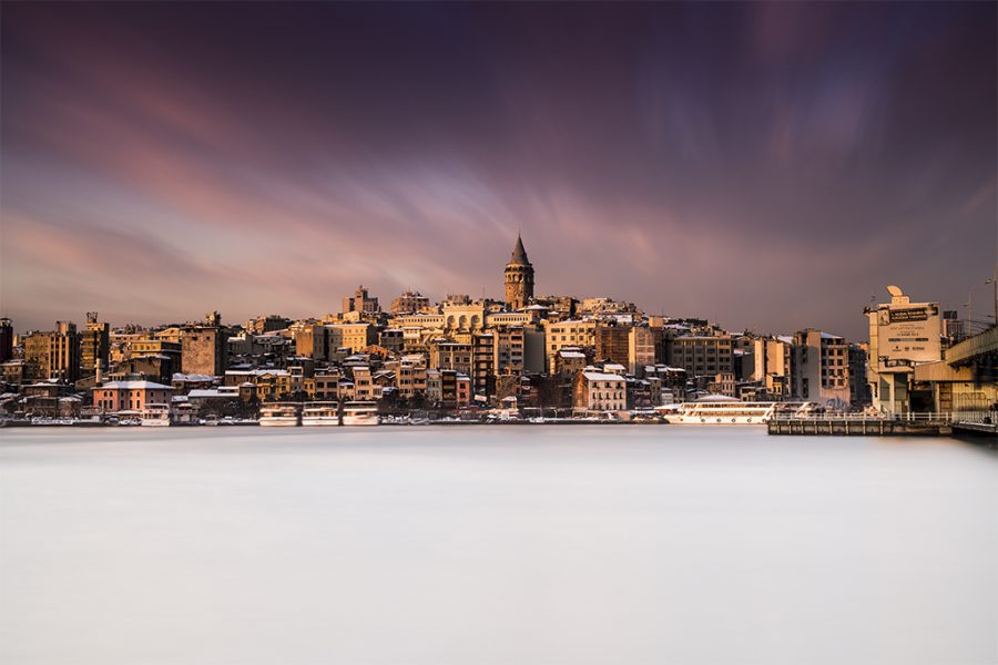 İstanbul, Galata, 2015, Neutral Density Filter