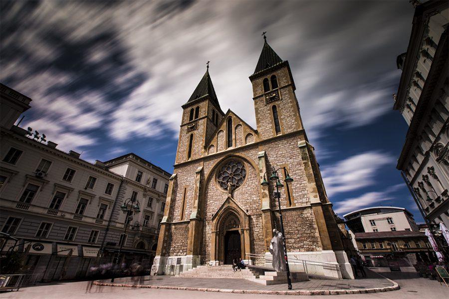 Bosnia and Herzegovina, Cathedral of Jesus Sacred Heart