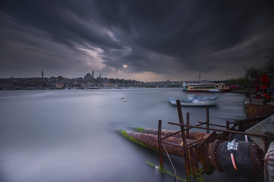 İstanbul, Karaköy, 2015, Neutral Density Filter