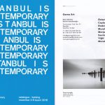 Istanbul is Contemporary, 2016