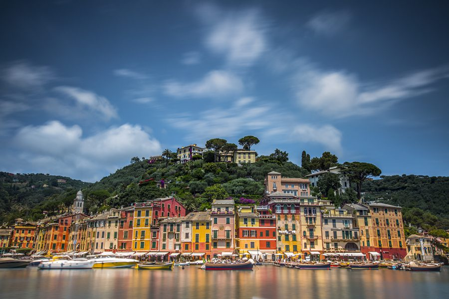 Italy, Genova, Portofino, 2017, Neutral Density Filter