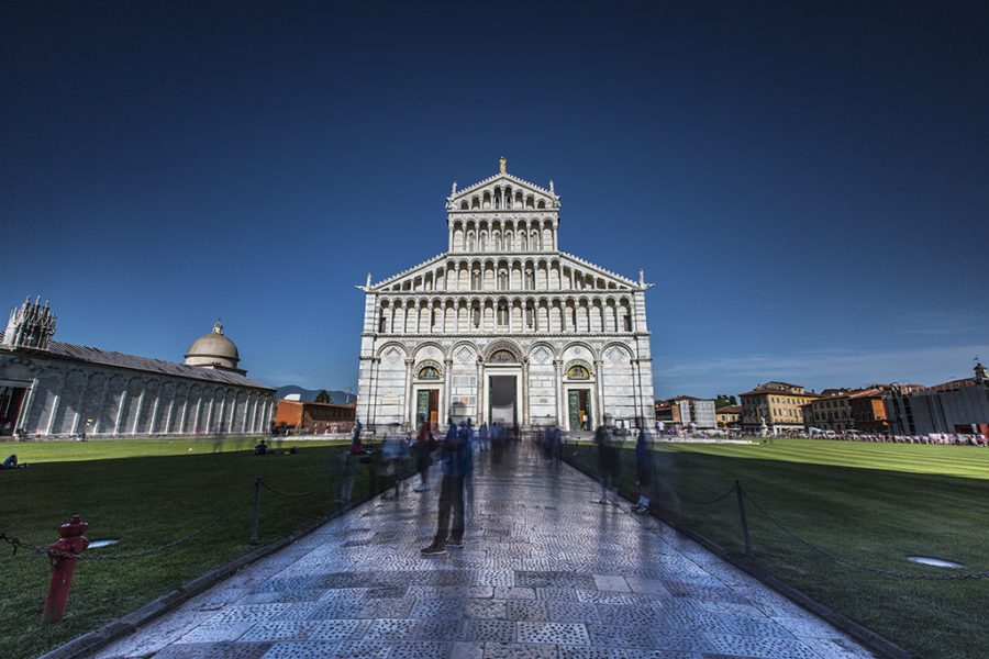 Italy, Pisa Cathedral, 2017, Neutral Densıity Filter