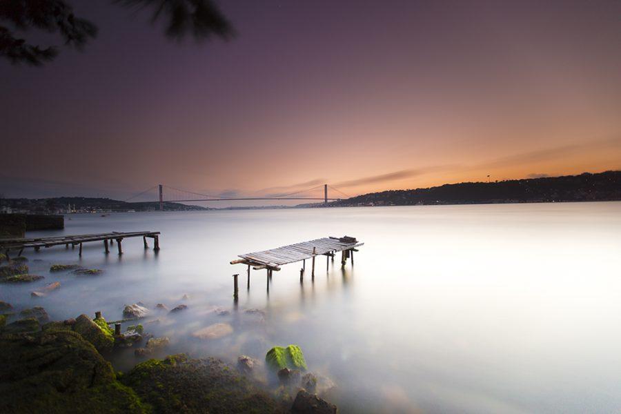 İstanbul, Kuleli Sahili, Neutral Density Filter