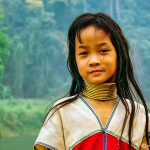 Phil Callan - Kayan child - NorthWest Thailand