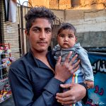 Phil Callan - Baluchi man and child - Kerman - Iran