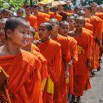 Phil Callan - Smiling Monk - Luang Prabang - Laos