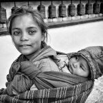 Phil Callan - Brother and Sister - Nepal