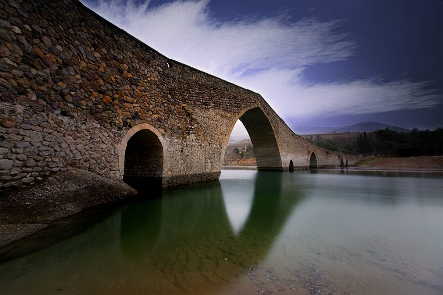 Kahramanmaraş, Tarihi Ceyhan Köprüsü, Ceyhan Nehri, 2018, Neutral Density Filter