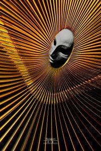 02_(2012,Özlem Acaroğlu), ''Altın Kadın'', Camaltı Galeri, Tophane-i Amire, MSGSÜ, Fındıklı, Sergileme(Ps'de Plug-in kullanımı)