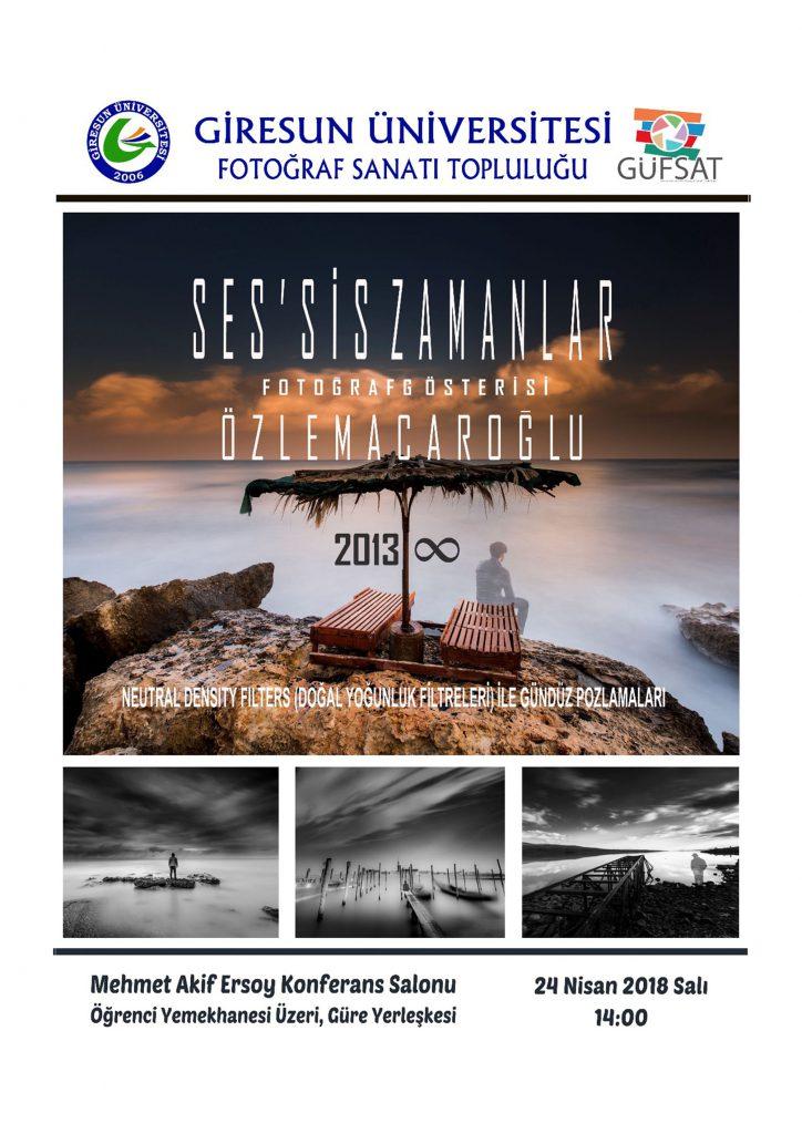 Özlem Acaroğlu, Ses'sis Zamanlar, Giresun Üniversitesi